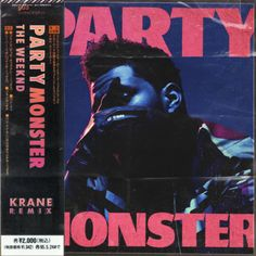 Stream The Weeknd - Party Monster (KRANE Remix) by KRANE from desktop or your mobile device Music Covers, Cd Cover, Album Covers, Cover Art, Room Posters, Poster Wall, Poster Prints, Graphic Design Posters, Graphic Design Inspiration