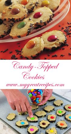 Perfect for a birthday #party ! The kids will be happy to help make these easy and fun #cookies