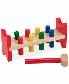 9.99 macys.com Melissa and Doug Kids Toy, Pound-a-Peg Activity