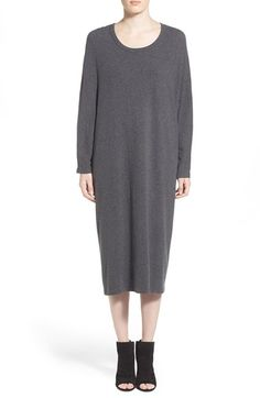 James Perse Brushed Jersey Caftan Dress available at #Nordstrom