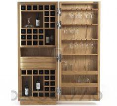 #bar #homebar #furniture #furnishings #interior #design #interiordesign #designideas бар Riva 1920 Cambusa, Cambusa Wine Small