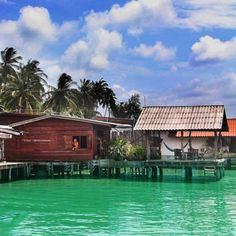 lanta pole houses, thailand