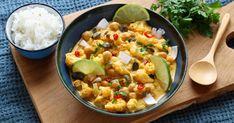 Recette - Curry végétarien de chou fleur rôti et pois chiches | 750g