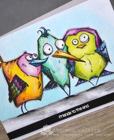 Smooshing Crazy Birds!