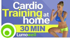 Cardio Training Workout at Home for Fat Loss - 30 Minutes