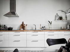 Simple stylish scandinavian kitchen