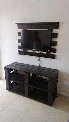 Furniture:Diy Pallet Tv Stand Furniture How to Create DIY Pallet Furniture, Create DIY fu… Diy Pallet Projects, Pallet Ideas, Home Projects, Wood Ideas, Rack Pallet, Diy Furniture Ikea, Furniture Ideas, Wood Furniture, Pallet Furniture Tv Stand