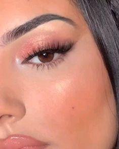 Matte Eye Makeup, Eye Makeup Art, Skin Makeup, Eyeshadow Makeup, Beauty Makeup, New Makeup Ideas, Makeup Looks Tutorial, Simple Makeup Looks, Prom Makeup