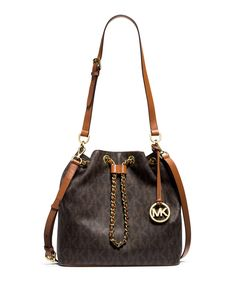 Frankie Large Convertible Drawstring Shoulder Bag, Brown by MICHAEL Michael  Kors at Neiman Marcus.