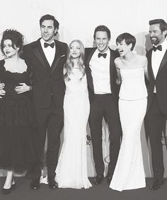 Les Miserables cast at Golden Globes 2013 Nelly Furtado, Sound Of Music, Victor Hugo, Les Mis Cast, Les Miserables Cast, Pretty People, Beautiful People, Gq, Held