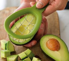 Avocado Cuber (gadgets, ideas, inventions, cool, fun, amazing, new, interesting, product, design, clever, practical, useful, gizmo, brilliant, genius, kitchen, food)