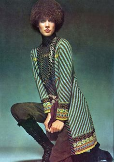 Vogue UK 1969. Photo by Bailey