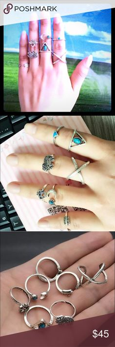 BOHO JEWELRY COMING SOON WHOLESALE BOOKMARK UPDATE Selling sets! 3 sets a piece! Wholesale! Beautiful quality! This is a pre-advertisement.. MSRP : $32 Boho rings Jewelry Rings