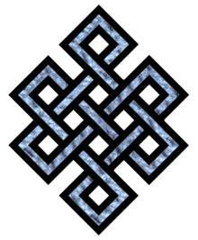 """An Endless Knot is an ancient symbol that represents the interweaving of a spiritual path. The symbol symbolizes Eternal Love and Friendship, inter-twining of wisdom and compassion, as well as the union of wisdom."""