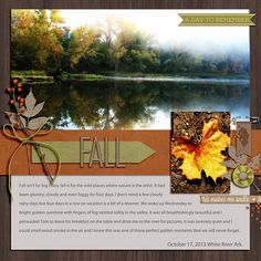 Fall...Autumn Layout