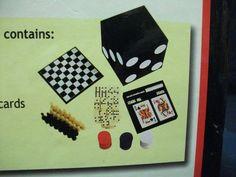 Juego De Mesa 6 en 1 - Poker - Domino - Backgammon - Buen Estado