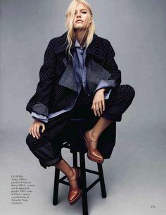 Louise Parker by Jason Kibbler for Vogue Spain January 2014 2