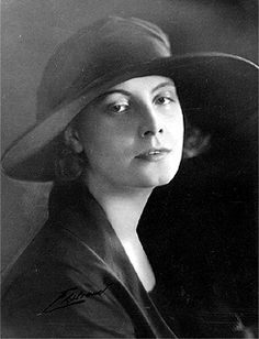 Eighteen year old Greta Garbo photographed in her native Stockholm, Sweden (1923)