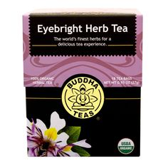 Buddha Teas Eyebright Herb Tea, 18 Count (Pack of 6) >>> See it now, it's a great product : Fresh Groceries