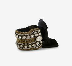 Vera Wang Gold, Black And Silver Bracelet.