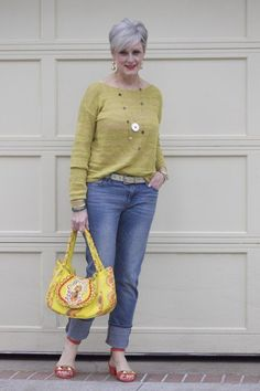 Beth D's fashion blog called Style at a Certain Age. Gotta love how great she looks! Almost as stylish and gorgeous as nana! ;) Good to Go | Styleatacertainage