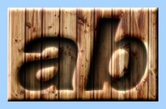 Engraved Wood Text Effect 058