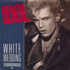 ... Billy Idol - White Wedding / Mega Idol Mix - Chrysalis - UK - IDOL 5