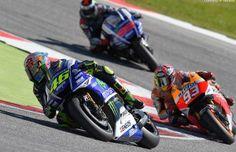 'Este ano Valentino Rossi tem sido mais constante, mais forte e com mais velocidade' – Marc Márquez