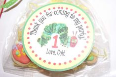 The Very Hungry Caterpillar Birthday Party Ideas | Photo 1 of 12 | Catch My Party