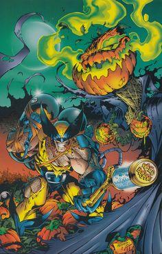 "alexhchung: ""Dream Team - Ultraverse/Marvel crossover pin ups Marvel Comic Character, Comic Book Characters, Marvel Characters, Comic Books Art, Comic Art, Famous Superheroes, Wolverine Art, Demon Art, Marvel Comics Art"