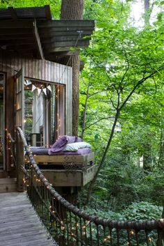 Camping is so last summer. This year, trade your tent for one of these rustic tree house retreats across the country, from Hawaii to Upstate New York.