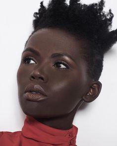 "continentcreative: ""Liliann Uwanyuze by Brandon Hicks | Makeup by Nimai Marsden """
