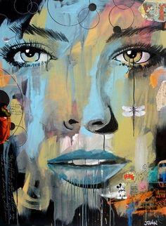 "Saatchi Online Artist Loui Jover; Painting, ""dragon fly (canvas)"" #art"