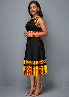 African Dresses For Kids, Latest African Fashion Dresses, African Dresses For Women, African Attire, Women's Fashion Dresses, Sexy Dresses, African Dress Styles, African Fashion Designers, African Print Dress Designs