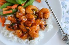 #Recipe : Spicy Orange Shrimp - My Favorite Things