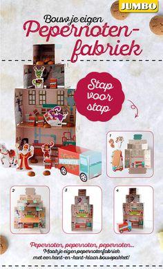 Knutsel je eigen pepernotenfabriek met dit handige kant-en-klaar bouwpakket! #Sinterklaas #diy #JumboSupermarkten