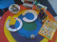 """Stethoscope craft- Used a Version of this on our """"Feeling Better"""" themed day"""
