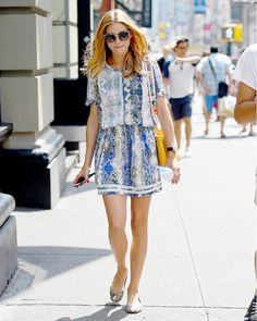 It's Official: Olivia Palermo Just Wore the Perfect Summer Outfit via @WhoWhatWear