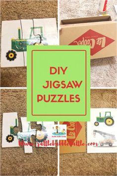 DIY JIGSAW PUZZLES - Rattle Babble Battle