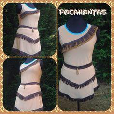 Pocahontas inspired complete running outfit by iGlowRunning, $120.00