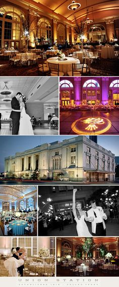 Union Station, located in the heart of downtown Dallas is the perfect historical location for any elegant affair! The building combines beautiful architecture and history to create a captivating space that can be transformed for any style. The upper level floors have various rooms that can seat anywhere from 20 to 1000 people.   Photography (top L to bottom R): 1. Andrea Polito Photography, 2. Aves Photo, 5. Paul Dyer Photography, 6. Edmonson Weddings, 7. Thisbe Grace Photography