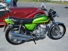 Kawasaki KH250 first bike I owned