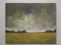 Brighten up the Day Oil Painting Original landscape by VESNAsART
