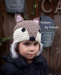 Crochet Fox Hat pattern on Ravelry by Pukado