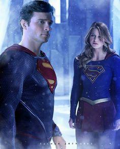 Cousins; Superman,  Supergirl.                                                                                                                                                      More