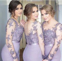 Madrinhas de lilás, nós adoramos! www.quemcasaquerdicas.com Emilio B Photography