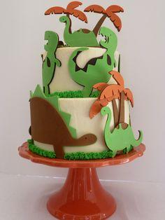 Dino-mite! Dinosaur Birthday Cake