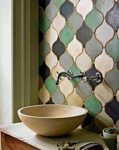 Amazing Small Master Bathroom Tile Makeover Design Ideas - Our new house - Bathroom Decor Funky Bathroom, Small Bathroom Tiles, Bathroom Tile Designs, Bathroom Wall Decor, Modern Bathroom Design, Bathroom Interior Design, Bathroom Flooring, Bathroom Ideas, Bathroom Storage
