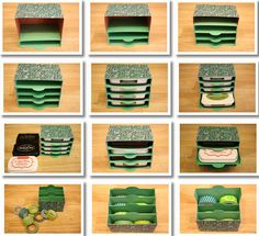 Momento (StazOn, Colorbox) Ink Pad Storage - OR Washi Tape!