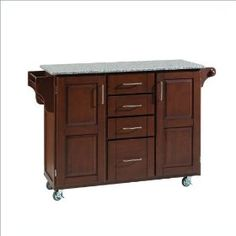 Home Styles 9100-1073 Large Cabinet Kitchen Cart.  List Price: $930.00  Sale Price: $484.98  Savings: 48%